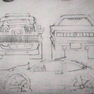 My drawing of what i want my mav to look like