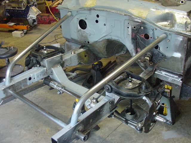 Ford Falcon Fiberglass Front End