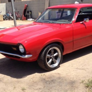 Maverick rojo. Red Ford Maverick Walkaround.
